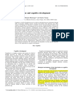 Bhatnagar - Zinc and Cognitive Development