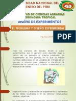 Diseño Experimental - El Problema y Diseño Experimental