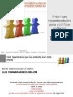 Prácticas  recomendadas  para codificar  software