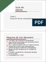 Arqui_compu(clase 2)Evolucion Comp y Estructura Básica.pdf