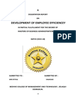 DEVELOPMENT OF EMPLOYEE EFFICIENCEY.doc