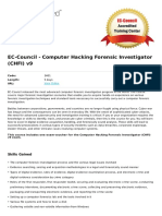 Computer Hacking Forensic Investigator Chfi v9