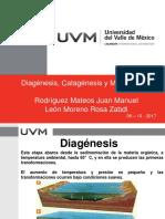 Diagenesis Catagenesis Metagenesis v2
