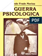 Guerra Psicologica La - Frade Merino Fernando