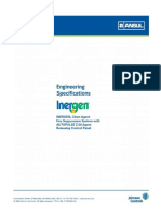 Engineering Specification for Inergen Gaseous Fire Suppression System