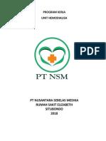 Program Kerja Unit Hd 2018