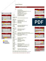 CIS School Calendar 2018-19_Revised