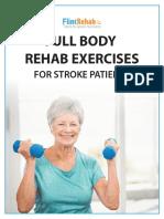 Stroke Rehab Exercises
