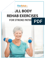 Stroke Rehab Exercises