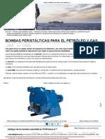 Bombas Peristálticas Para Petróleo & Gas _ Www.pcm.Eu