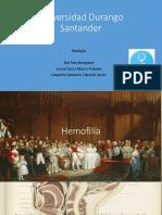 Hemofilia y Trastornos de La Coagulacion