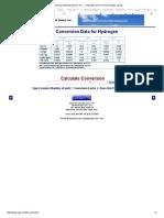 Universal Industrial Gases, Inc. ... Hydrogen Unit Conversion (Gas, Liquid)