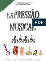 EXPRESSÃO MUSICAL TRABALHO