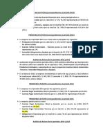 PRINCIPALES ACTIVOS Correspondientes Al Periodo 2014