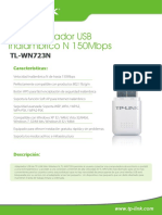 TL-WN723N V3 Datasheet