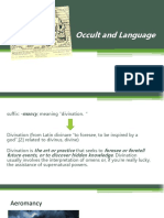 Occult and Language.pptx