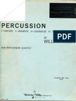 Kraft, W. | Suite for Percussion (1963) - Partitura + Parti