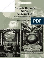 Bronwen Price-Francis Bacons the New Atlantis_ New Interdisciplinary Essays (2002)