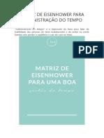 MATRIZ DE EISENHOWER PARA ADMINISTRAÇÃO DO TEMPO.docx