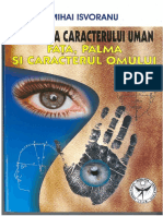 Anatomia Caracterului Uman - Fata, Palma Si Caracterul Omului, Mihai Isvoranu