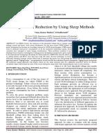 Different Sleep Methods