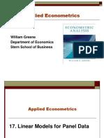 Econometrics I 17