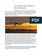 Humesmccoy Aviation the History of Francis S Gabreski Airport