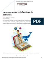 La Invención de La Infancia en La Literatura