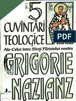 Sfantul Grigorie Teologul - Cele Cinci Cuvantari Teologice