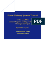 Power Delivery Systems Tutorial