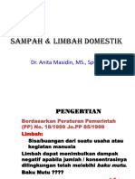 4. Sampah & Limbah Domestik