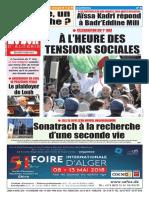 Journal Le Soir Dalgerie Du 30.04.2018