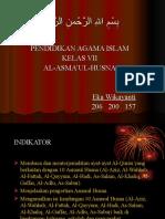 Al-Asmaul Husna