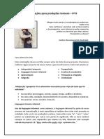 Orientações para PT 6o ano B