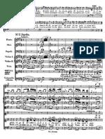 Mozart Clemenza K.621 Ah Perdona al primo affetto (Orchestral score)