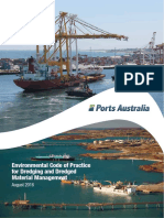 Ports Australia Dredging Code of Practice