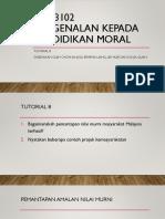 Moral Tutorial 8