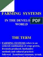 9. Kuliah IX. Farmingsystems
