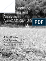 Terrain Modeling Contouring Analysis