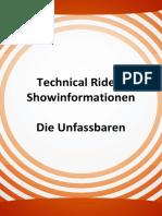 Technical Rider Unfassbar