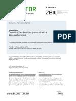 Contribuições Teóricas Para o Direito Ao Desenvolvimento