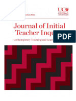 Journal Initial Teacher Inquiry Dec 2015