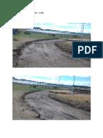 Perimeter road 1 station 1+480 - 1+500