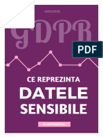 GDPR - Date Sensibile