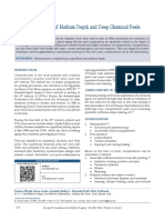 Complications of Medium Depth and Deep Chemical Peels