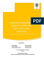 Kelompok 1 - Auditing Subsidiaries (Paper)