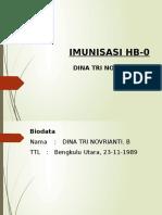 Imunisasi HB0