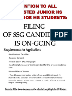 SSG Certificate of Candidacy