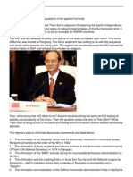 is Kio for Democratic War Against Evil Democracy of Junta