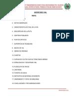 Inventario Vial de Balsa